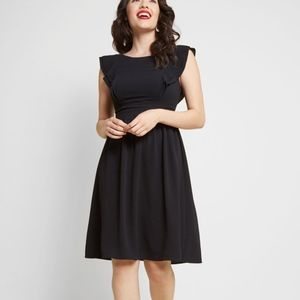 Modcloth NEW A Joy to Be Blissful A-Line Dress